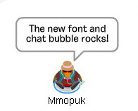 font-and-chat-bubble