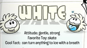 white-puffle