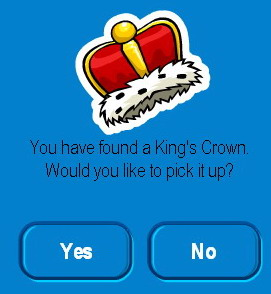 13 King's crown pin
